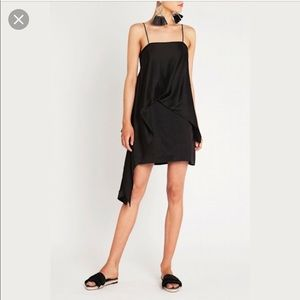 Sass & Bide, White Keys mini dress in black